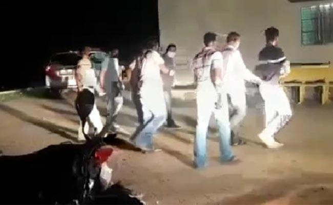 Hyderabad Businessman Kidnapped Case In Jagtial At Karimnagar - Sakshi