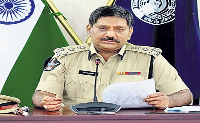 AP Police Technical Chief Palraj Comments On Chandrababu - Sakshi