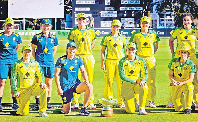 Australia equal ODI record with a massive victory over New Zealand - Sakshi