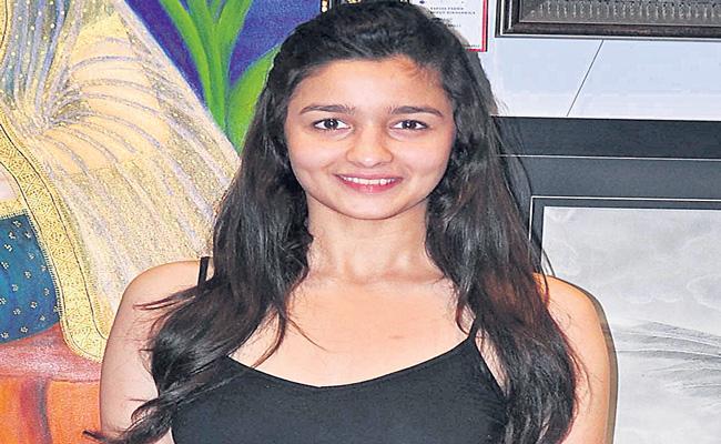 Alia Bhatt on learning Telugu for SS Rajamouli RRR - Sakshi