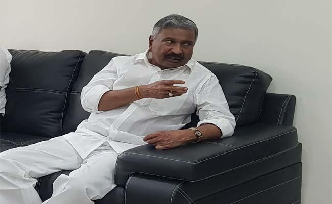 Peddireddy Ramachandra Reddy Meeting On News Sand Reaches - Sakshi