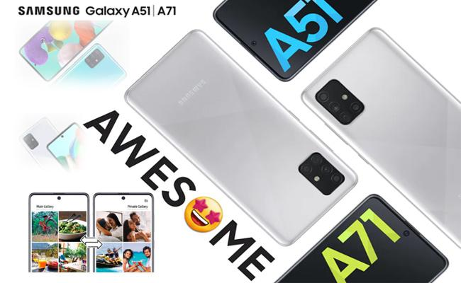 Samsung Galaxy A51 Galaxy A71 Quick Switch Sponsored - Sakshi