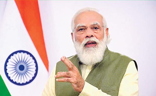 PM Narendra Modi address at Invest India Conference in Canada - Sakshi