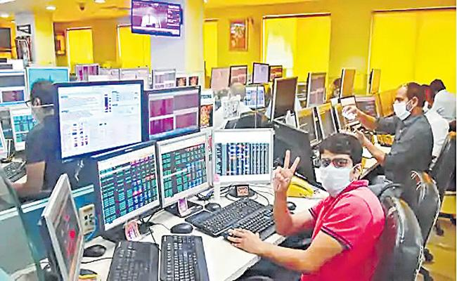 Sensex and Nifty End Higher For Sixth Day - Sakshi