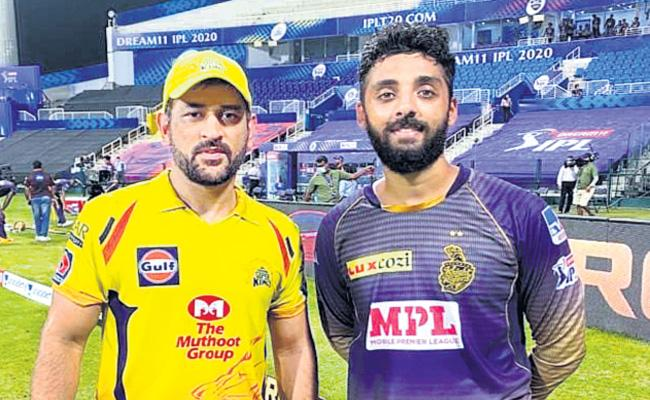 Varun Chakraborty told how Dhoni is valuable wicket against CSK - Sakshi