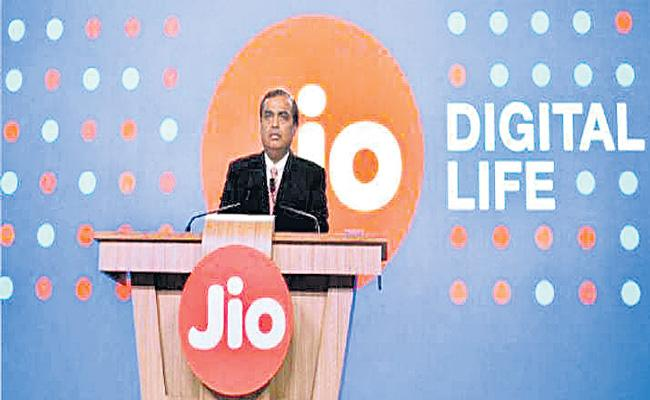 Jio designed to help India lead fourth industrial revolution - Sakshi