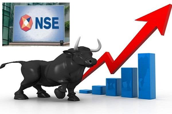 Nifty near 12,000 Mark- Banking sector gain - Sakshi