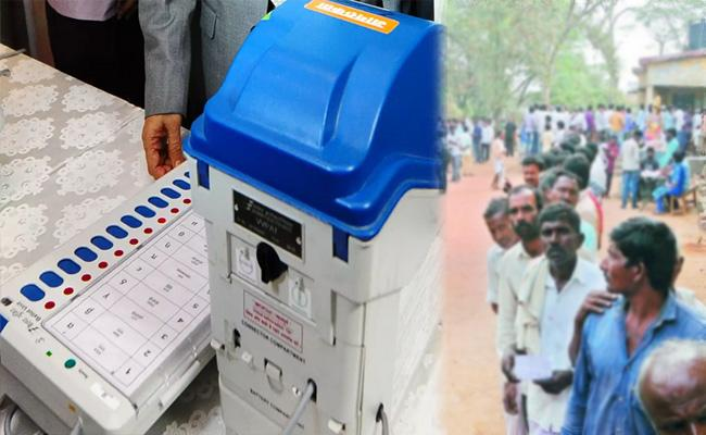 100 Percent Polling In Joint Nizamabad‌ Local Bodies MLC By Election - Sakshi