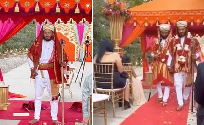 Gay Wedding In US In Kodava Traditional Attire Community Angers - Sakshi