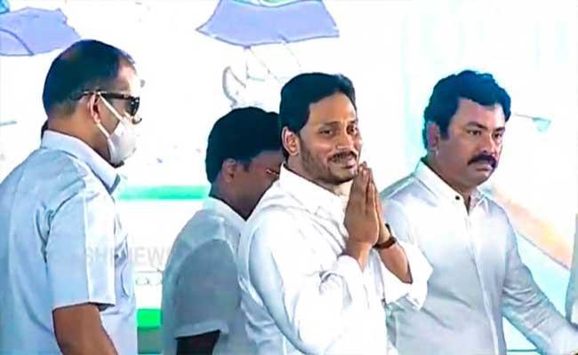 CMYS Jagan Talks WithKK Raju - Sakshi