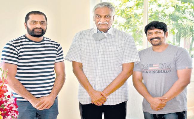 Tammareddy Bharadwaj launches Narasimhapuram first look - Sakshi