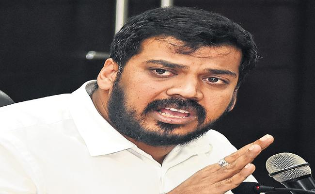 Anilkumar Yadav Fires On TDP And Chandrababu Naidu - Sakshi