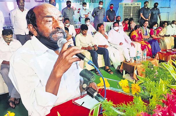BC Welfare Society Leader R Krishnaiah Praises CM YS Jagan - Sakshi