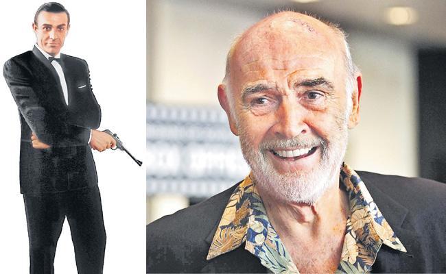 James Bond actor Sean Connery passes away at 90 - Sakshi