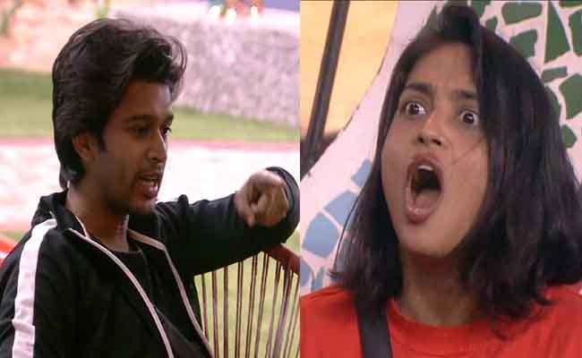 Bigg Boss 4 Telugu: Abhijeet Ugly Fight With Harika For Hugs - Sakshi