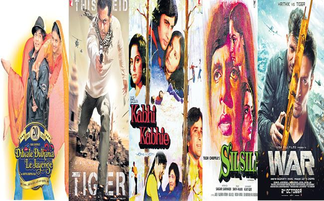Yash Raj Films partners with multiplexes to re-release iconic blockbusters - Sakshi