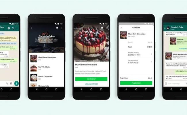 WhatsApp move towards ecommerce, rolls out a shopping button - Sakshi