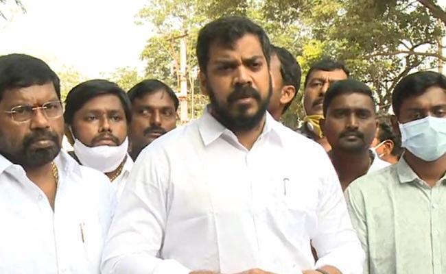 Irrigation Minister Anil Kumar Yadav  Fires On TDP - Sakshi