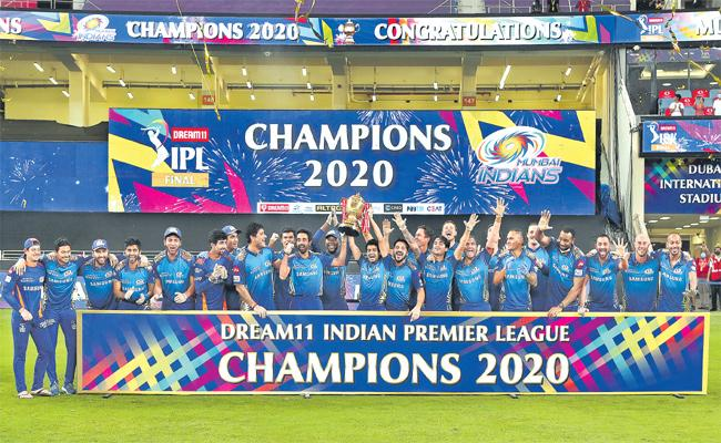 Mumbai Indians Beat Delhi Capitals By Five Wickets Clinch 5th IPL Title - Sakshi