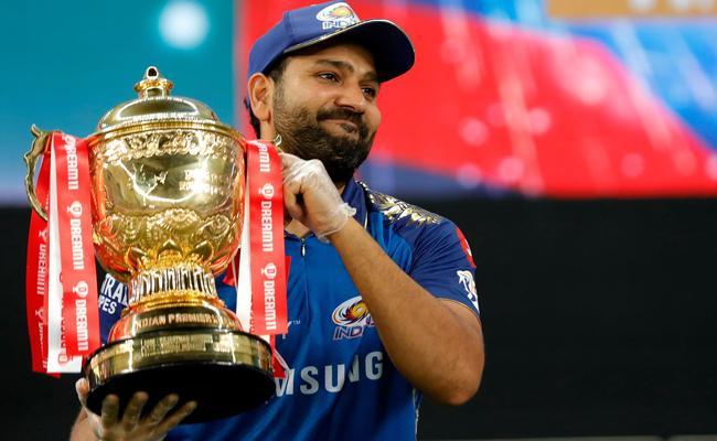 Rohit Sharma Reaction After Mumbai Indians Winning IPL 2020 Title - Sakshi