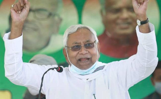 Nitish Kumar Will Be The Chief Minister - Sakshi