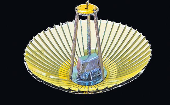 Antenna Unfolded To EOS-01 Satellite - Sakshi