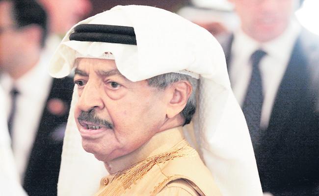 Bahrains PM Khalifa bin Salman Al Khalifa Pass away - Sakshi