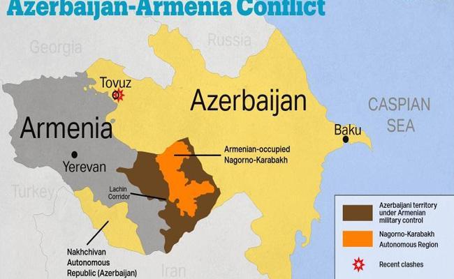 Armenia- Azerbaijan and Russia sign Nagorno-Karabakh agreements - Sakshi