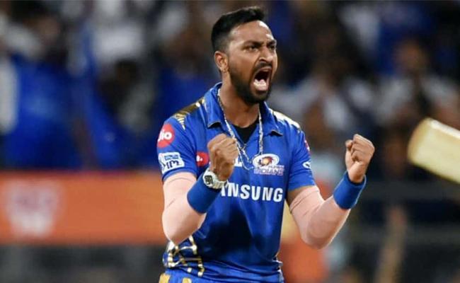 Cricketer Krunal Pandya stopped by DRI at the Mumbai Airport - Sakshi