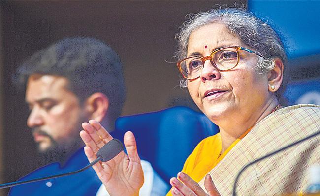 Nirmala Sitharaman announces new stimulus package worth Rs 2.65 lakh crore - Sakshi