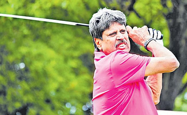 Fit and healthy Kapil Dev happy to be playing golf with friends - Sakshi