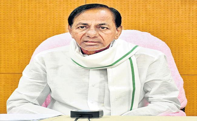 CM KCR Meeting With Ministers And Officials About GHMC Elections - Sakshi