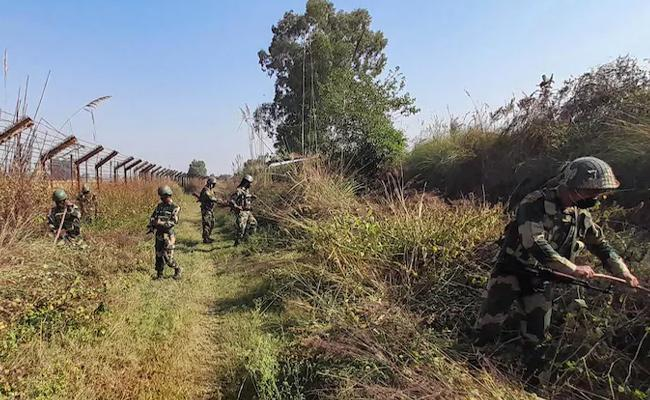 Pakistani soldiers killed in retaliatory fire - Sakshi