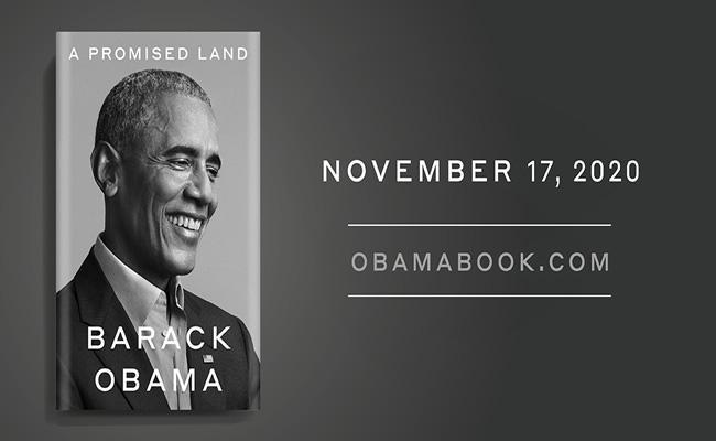 Barack Obama writes to A Promised Land Book - Sakshi