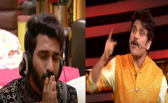 Bigg Boss 4 Telugu: Nagarjuna Says Pack Your Bag Akhil - Sakshi