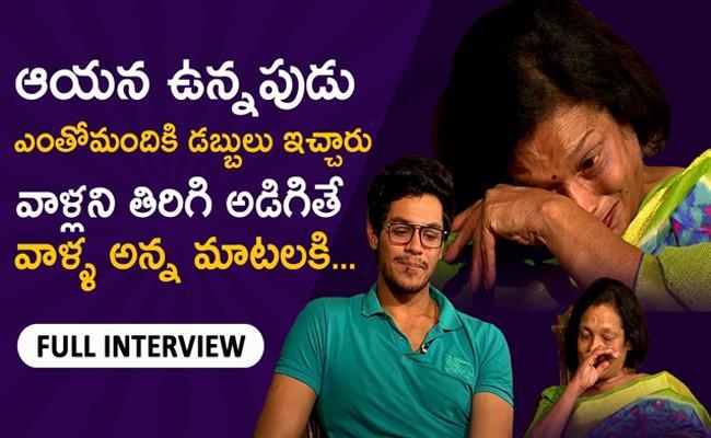 Bithiri Sathi Special Interview With Srihari Wife Santhi And Son Meghansh - Sakshi