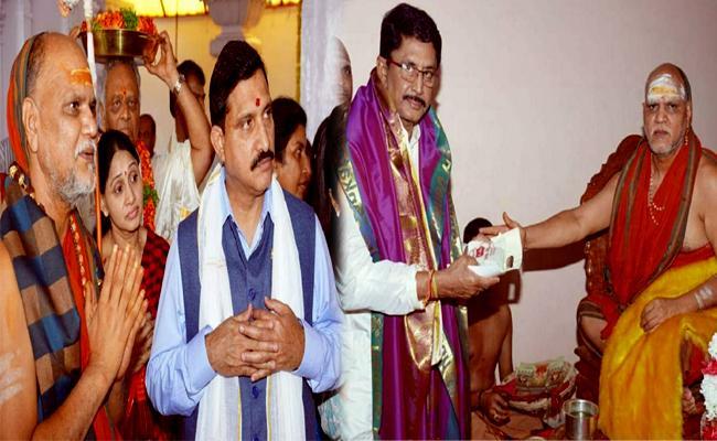 YSRCP MLA Malladi Vishnu Slams Yellow Media And TDP Leaders - Sakshi