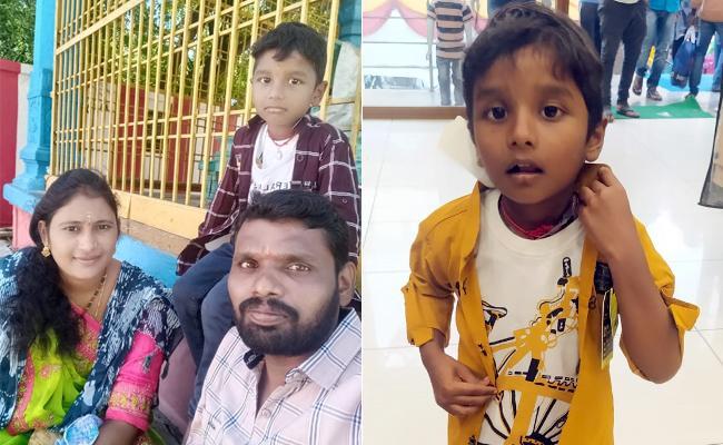 Five Years Boy Kidnaped In Suryapet District - Sakshi