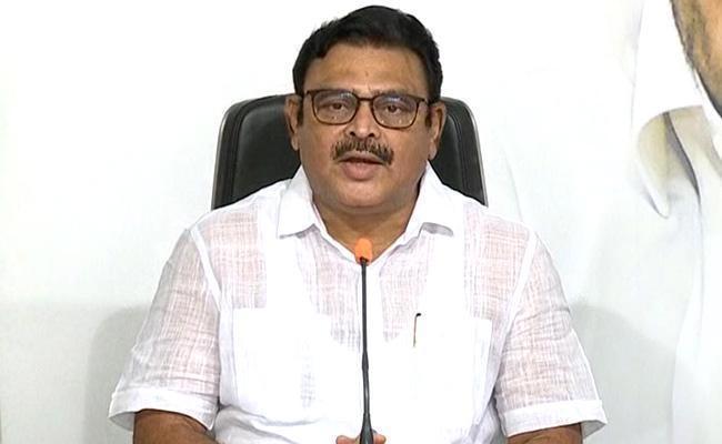 Ambati Rambabu Letter To Ramoji Rao - Sakshi