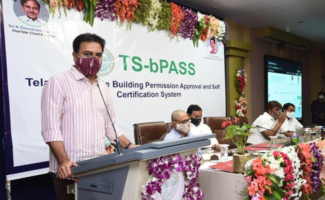 Minister KTR Inaugurates TS B Pass In Hyderabad On Monday - Sakshi