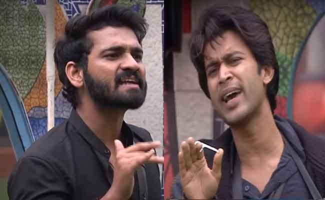 Bigg Boss 4 Telugu: Abhijeet Fight With Akhil Like Tiger Vs Goat - Sakshi