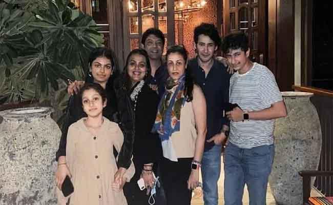 Mahesh Babu Celebrates Diwali With Family In Dubai - Sakshi