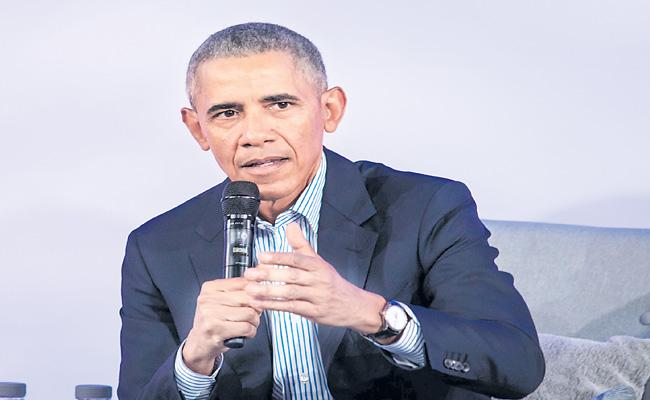 Barack Obama has a reminder for Joe Biden - Sakshi