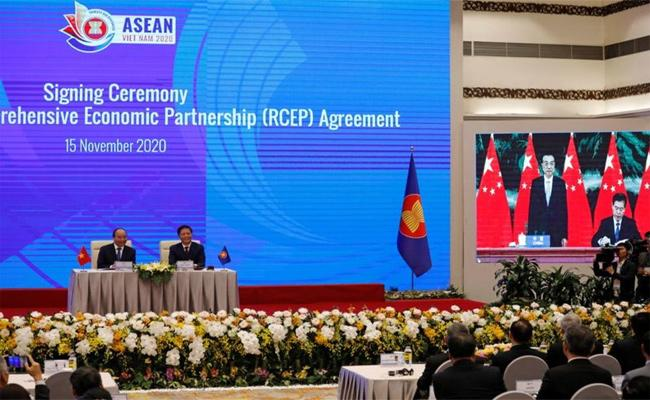 Editorial About RCEP Trade Agreement Shape Global Economics Politics - Sakshi