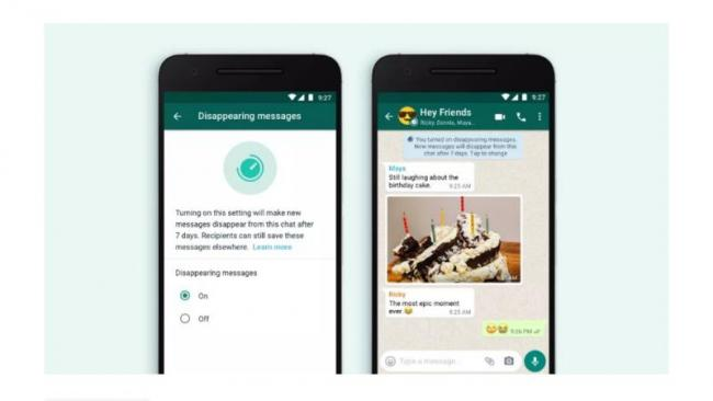 WhatsApp Disappearing Messages Starts Rolling Out To All Users - Sakshi