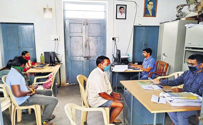 NRI Got His Birth Certificate From Village Secretariat In AP - Sakshi