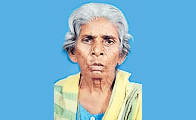 Elderly Woman Deceased While Waiting For Pension In The Q Line - Sakshi