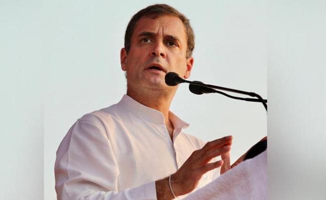 Development Or Destruction Rahul Gandhi Questioned Centre - Sakshi