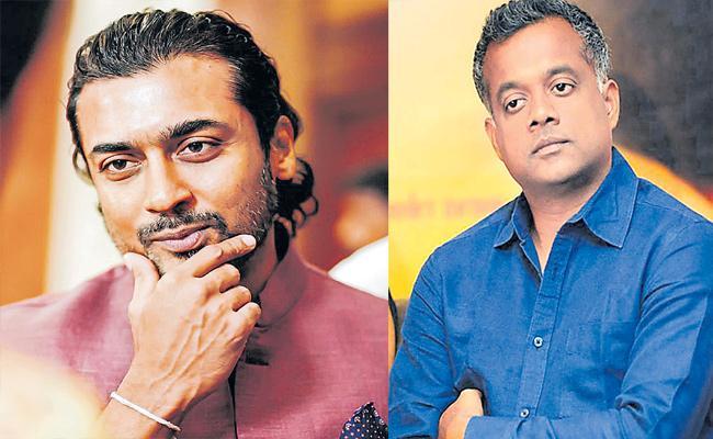 Surya Acting In Guatam Menon Short Film For Maniratnam Web Series - Sakshi