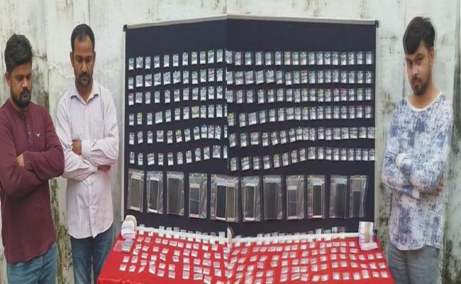 Hyderabad Police Arrested Drugs Gang - Sakshi